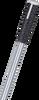 Soft touch DIN rail cutter handle.