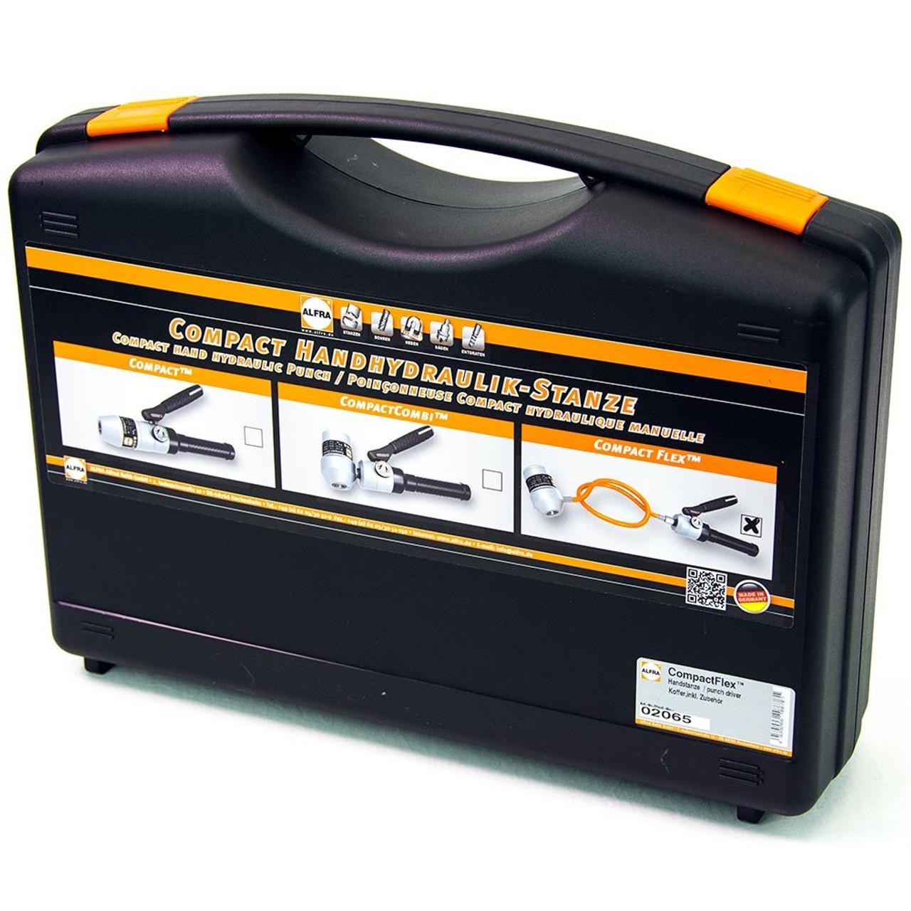 Alfra CompactFlex Manual Hydraulic Punching Tool Kit
