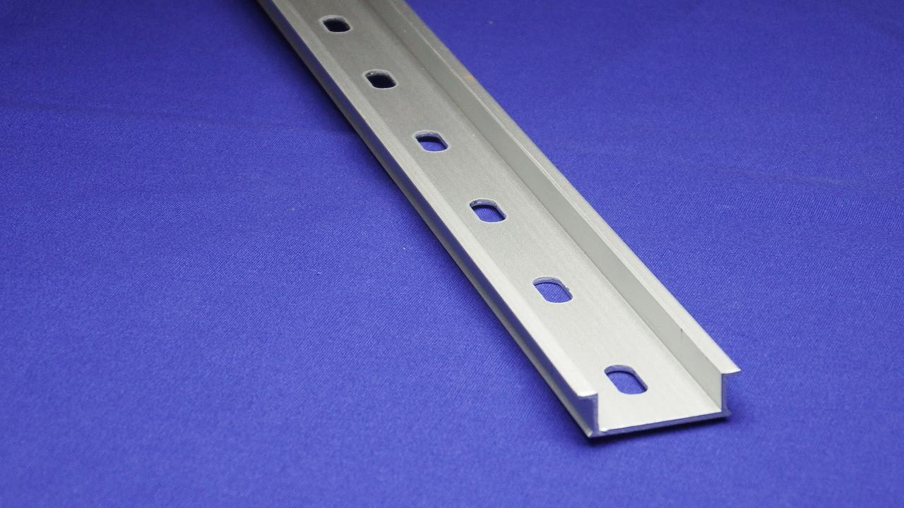 Pre-Cut Aluminum DIN Rail