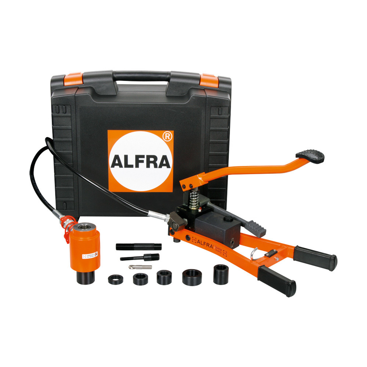 Alfra AEP-1 Foot Actuated Hydraulic Punching Tool Kit