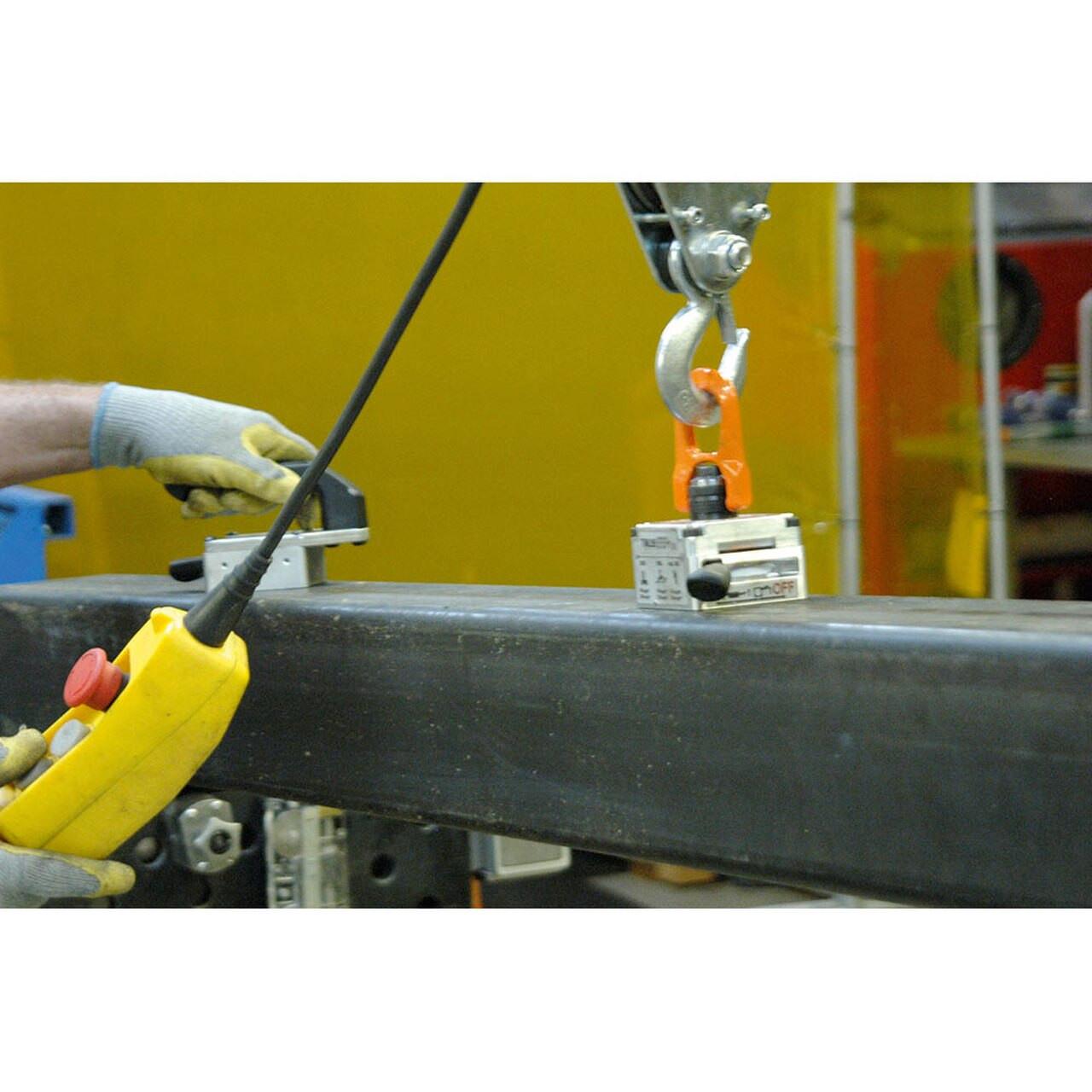 Alfra TML-220 Lifting Magnet on steel beam