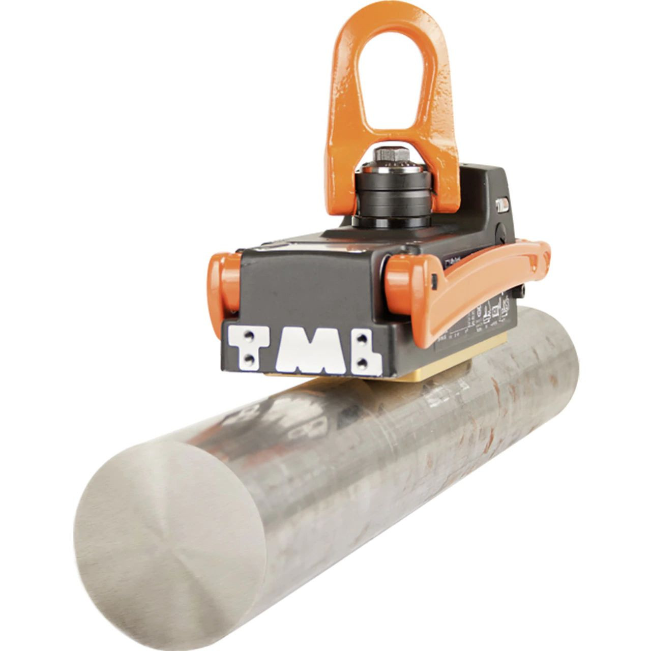 Alfra TML-400-R Pipe Lifting Magnet on round stock