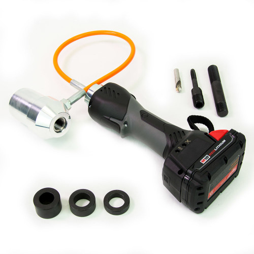 Alfra AKKU-Compact Flex Battery Operated Punching Tool Kit