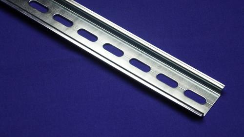 DIN Rail - 35 x 7.5 mm steel, RoHS Compliant