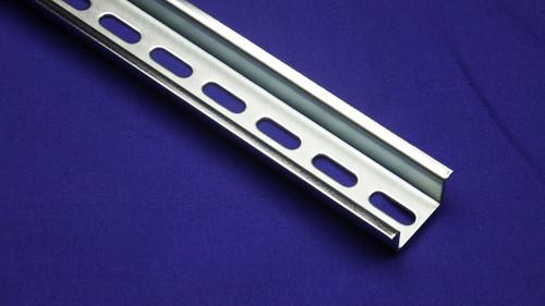 DIN Rail - 35 x 15 mm steel, RoHS Compliant