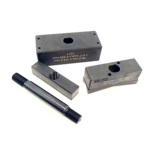 Alfra Rectangular Punch and Die Set rear view