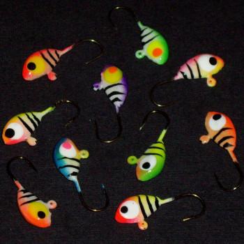 #8 Neon Glow Tiger Kit(10pcs)