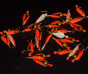Bulk Jigs w/#6 hooks (25pcs of same color)