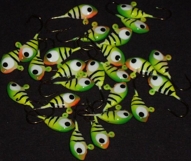 Bulk Jigs w/# 8 hooks (25pcs of same color)