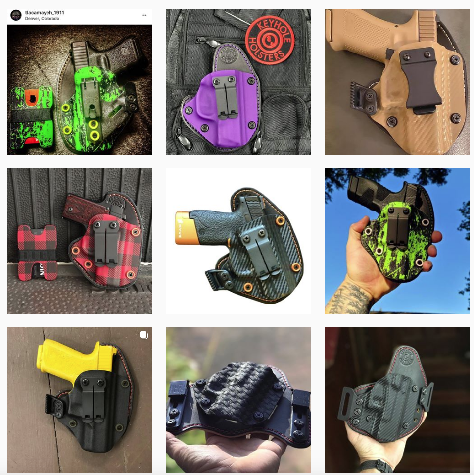 Keyhole Holsters hybrid kydex