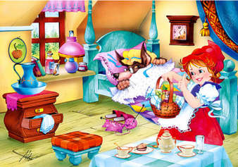 Little Red Riding Hood 60 Piece Puzzle