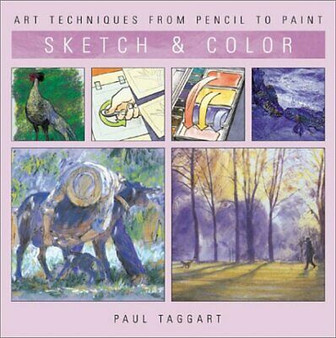 Sketch & Colour  Paul Taggart (Hard Cover)