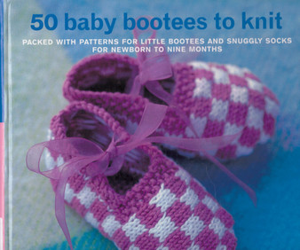 50 Baby bootees to Knit - Zoe Mellor (Hardcover)