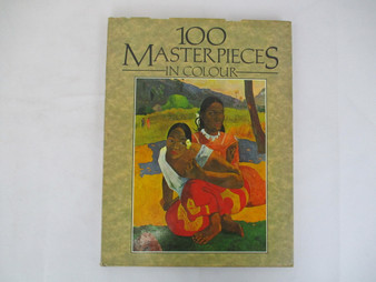 100 Masterpieces In Colour - Galley Press (Hardcover)