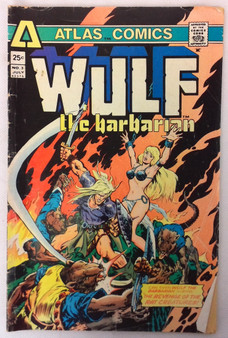 Wulf the Barbarian: The Colossus of the Iron Citadel (No.3) - Steve Skeates and Leo Summers