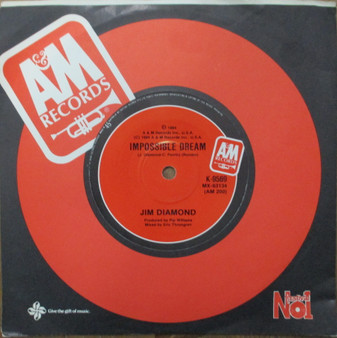 I Should Have Have Known Better /Impossible Dream- Jim Diamond