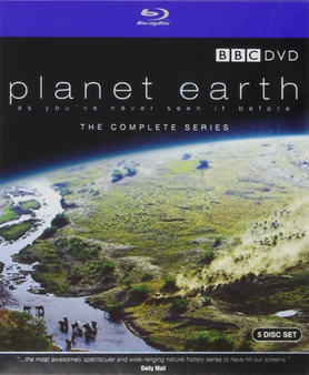 Planet Earth - The Complete Series - Blu-ray 5 Disc Set