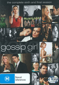Gossip Girl The Complete Sixth and Final Season DVD