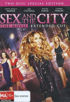 Sex And The City: The Movie - Extended Cut DVD