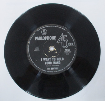 45 RPM  I Want To Hold Your Hand - The Beatles