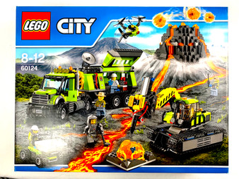 LEGO City Volcano Exploration Base- 60124