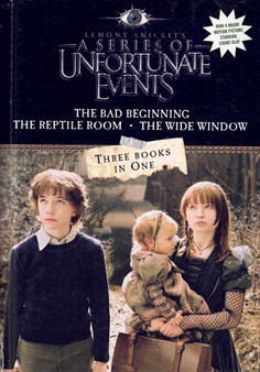 A Series Of Unfortunate Events: Three Books In One - Lemony Snicket (Hardcover)