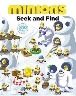 Minions: Seek And Find - Trey King (Hardcover)