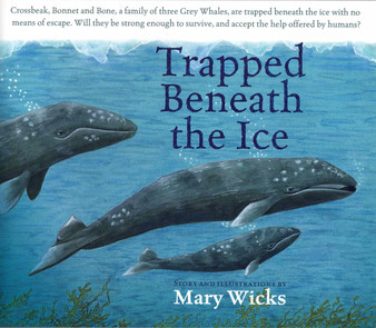 Trapped Beneath The Ice - Mary Wicks
