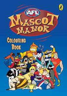 AFL  Mascot Manor  Colouring Book