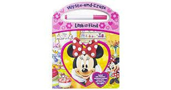 Disney Minnie Write-and-Erase Look and find