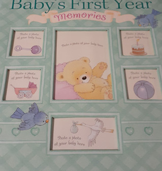 Baby's First Year Memories