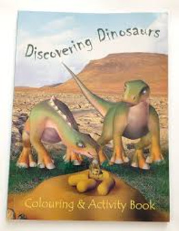 Discovering Dinosaurs  Colouring & Activity Book