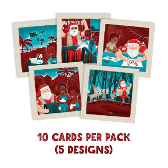 Save the Children Christmas cards