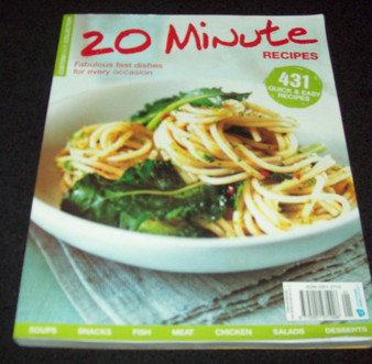 20 Minute Recipes  Custommade Collections