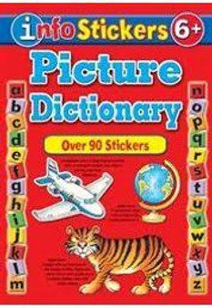 Picture Dictionary  Over 90 Stickers