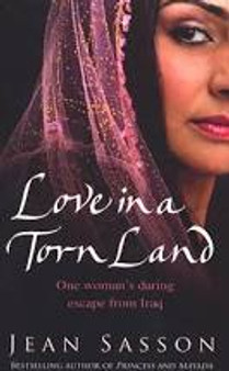 Love in a Torn Land  Jean Sasson