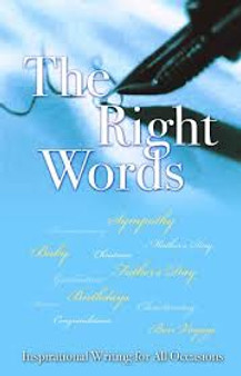 The Right Words  Rose Welling