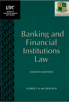 Banking and Financial Institutions Law -Everett and McCracken