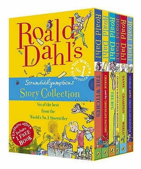 Scrumdiddlyumptious Story collection Roald Dahl
