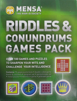 Riddles and Conundrums Games Pack - Mensa