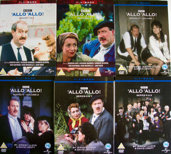 'Allo 'Allo Season 1 - 9 DVD set