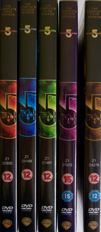Babylon 5 Series 1-5 DVD Set