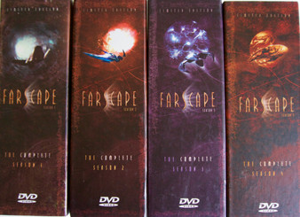 Farscape - Limited Edition DVD Box Sets SeasonS 1 - 4 Complete