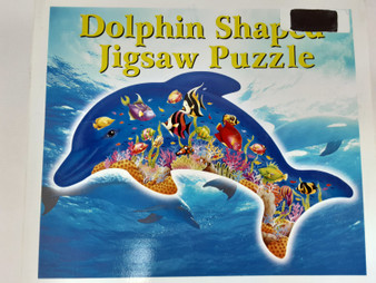 Dolphin Shaped Puzzle