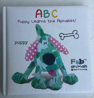 ABC Puppy Learns The Alphabet Hardcover