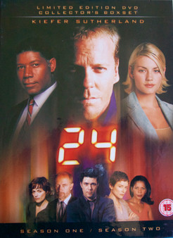24 : Series 1 & 2 (Limited Edition Box Set) [DVD] [2002]