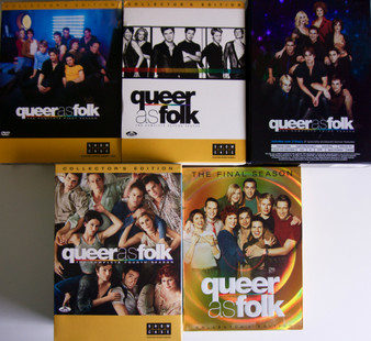 Queer as Folk - Complete Collectors Editions - Series 1-5