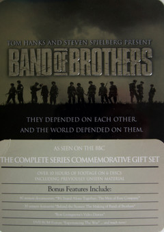 Band of Brothers Tin Box Collectors Edition DVD Box Set