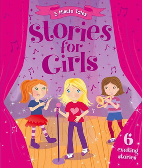 Stories For Girls - 5 Minute Tales-Hardcover