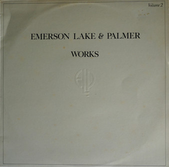 WORKS VOLUME 2 - Emerson lake and Palmer